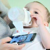 הנקה והאכלה, מנשאי תינוקות, סמרטפונים ואפליקציות